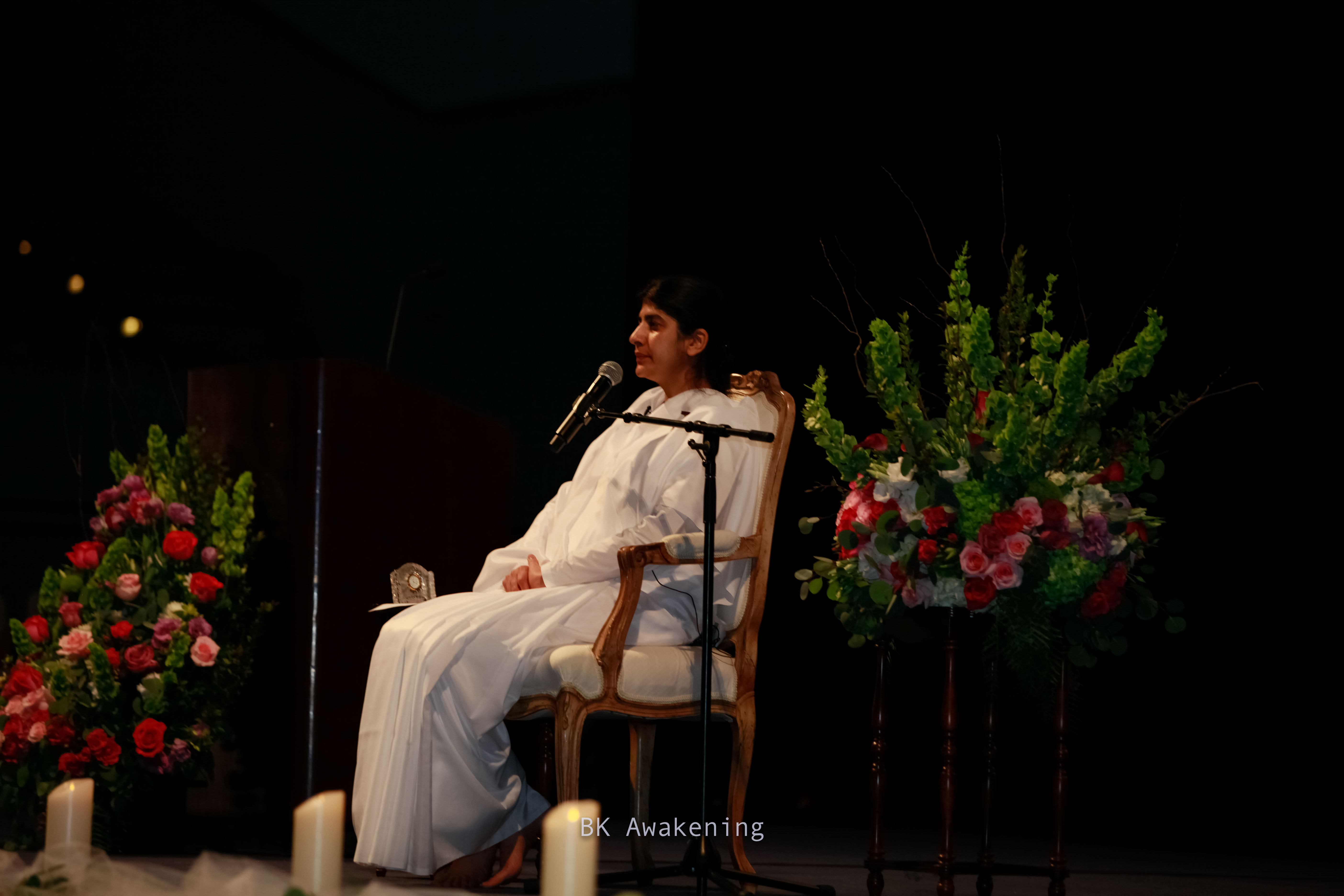 Magical Evening with Sister BK Shivani at the University of