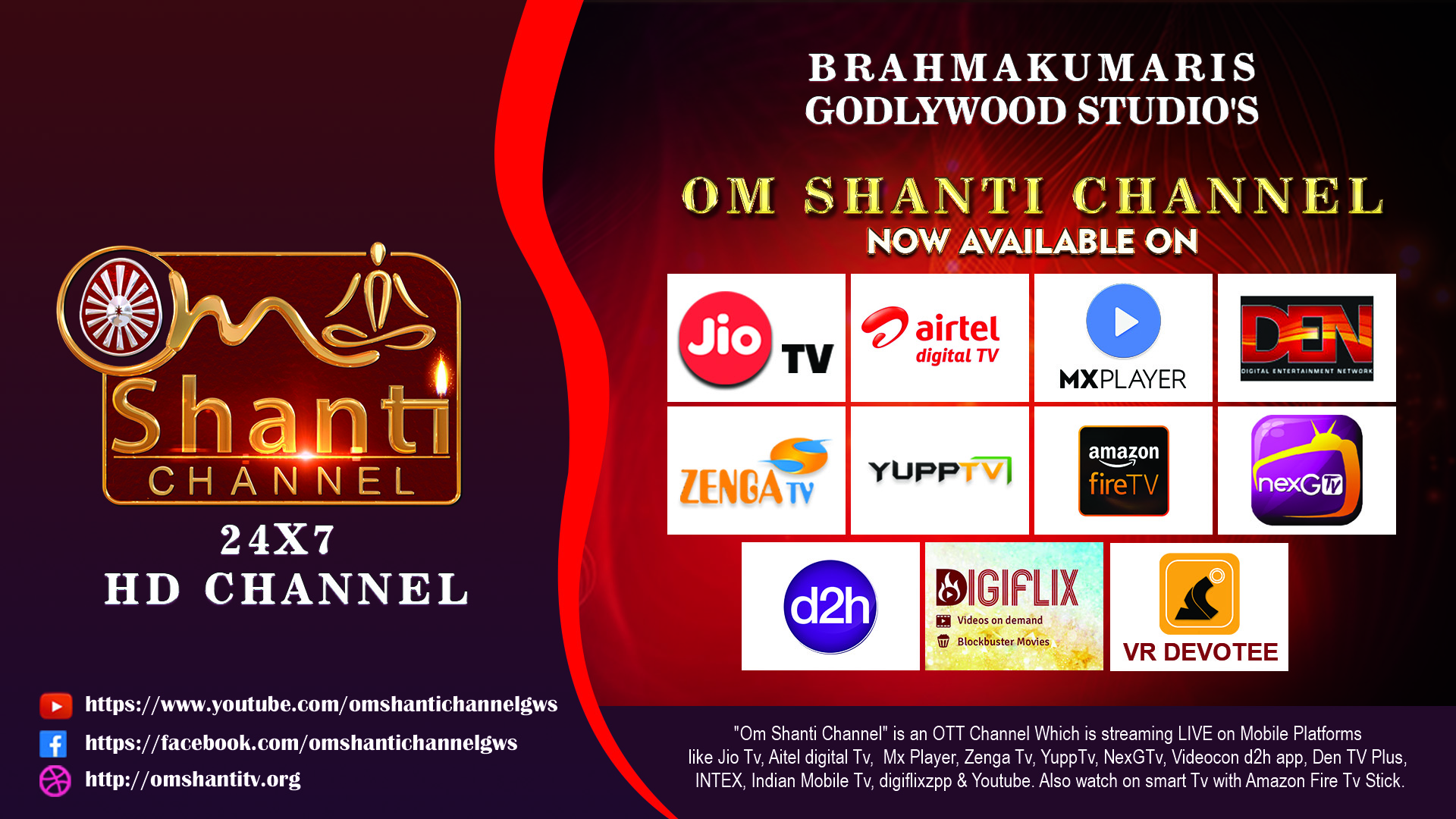 Om Shanti Channel – Lighthouse to the Planet   Media Wing