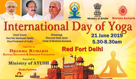 The Vice President of India will Address the International Day of